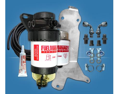 FORD RANGER 2.2/3.2l MODELS FUEL MANAGER PRE FILTER KIT FM621DPK