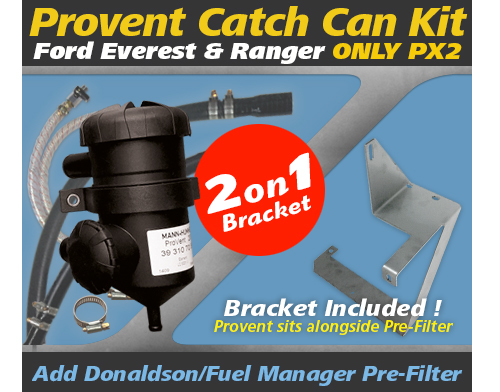 Ford Everest, Ranger 2015-on ONLY PX2 incl.bracket PROV-20B/PROV-15