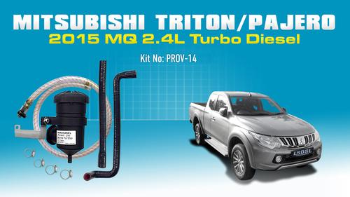 Mitsubishi Triton 2015 / Pajero Sports 4N15 - Vehicle Specific Kit OS-PROV-14M