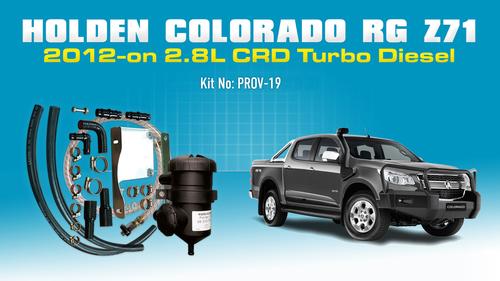 Holden Colorado (jun2012 on) RG & Z71 2.8L Diesel PROV-19
