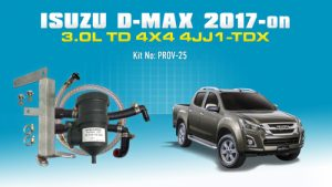 Isuzu D-MAX MU-X (feb2017) 3.0L T/D 4Cyl. 4JJ1-TCX PROV-25