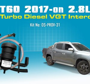 LDV T60 (2017) 2.8L Turbo Diesel 4Cyl. VGT Intercooler PROV-31