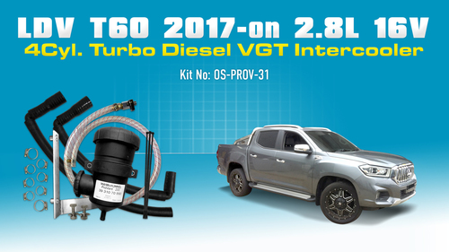 LDV T60 (2017) 2.8L Turbo Diesel 4Cyl. VGT Intercooler PROV-31