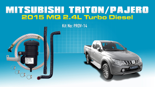 Mitsubishi Triton 2015-on AUTO MQ MR 2.4L Turbo Diesel 4Cyl 4N15 DI DOHC 16V PROV-14