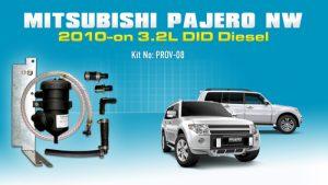 Mitsubishi Pajero 3.2L DID Pro Vent PROV-08