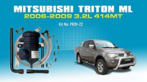Mitsubishi Triton (2006-09) ML 3.2L Common Rail 4M41T PROV-22
