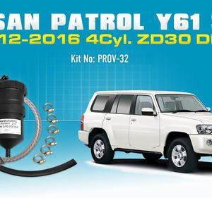 Nissan Patrol 2012-16 3.0L Y61 Diesel PROV-32