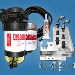 Toyota Hilux D4D Pre Fuel Water Separator Kit FM612DPK for 3.0L Diesel 30 Micron