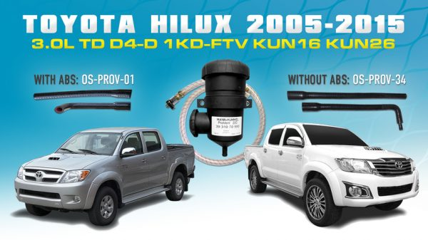 Toyota Hilux N70 (2008-15) 3.0L D4D KUN16 KUN26 -PROV-01-Hilux