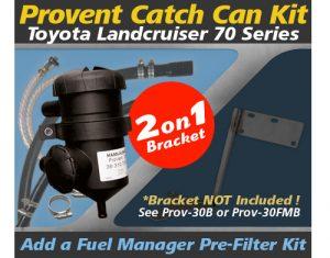 Toyota Landcruiser 70 Series Single/Dual Battery PROV-30