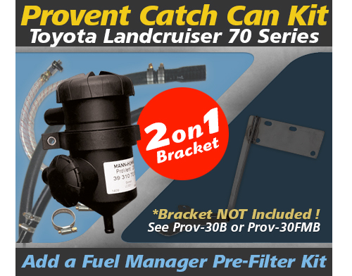 Toyota Landcruiser 70 Series Single/Dual Battery PROV-30