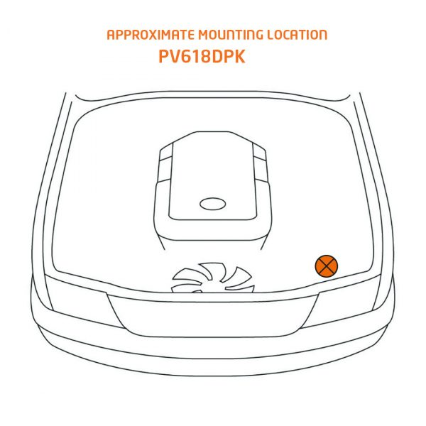 PV616DPK mounting location