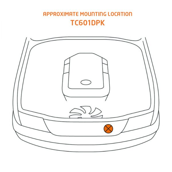 TC601DPK mounting location