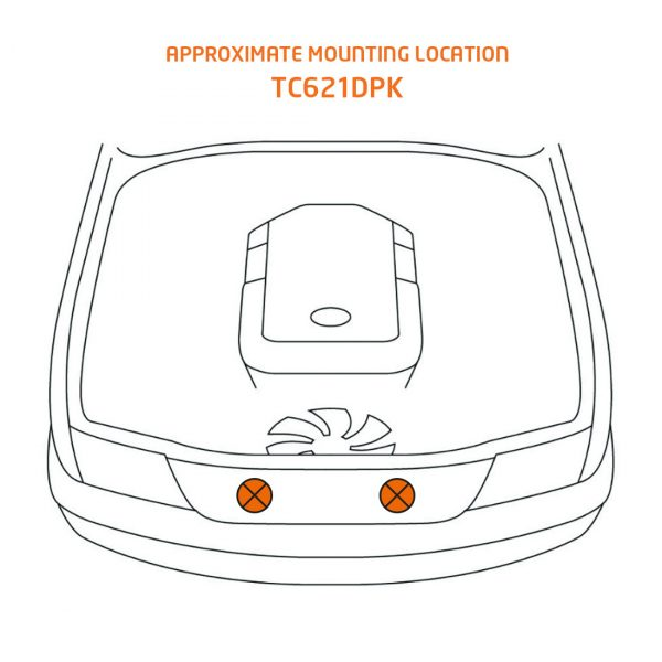 TC621DPK mounting location