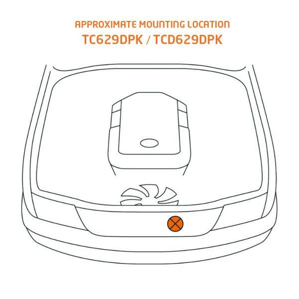 TC629DPK mounting location